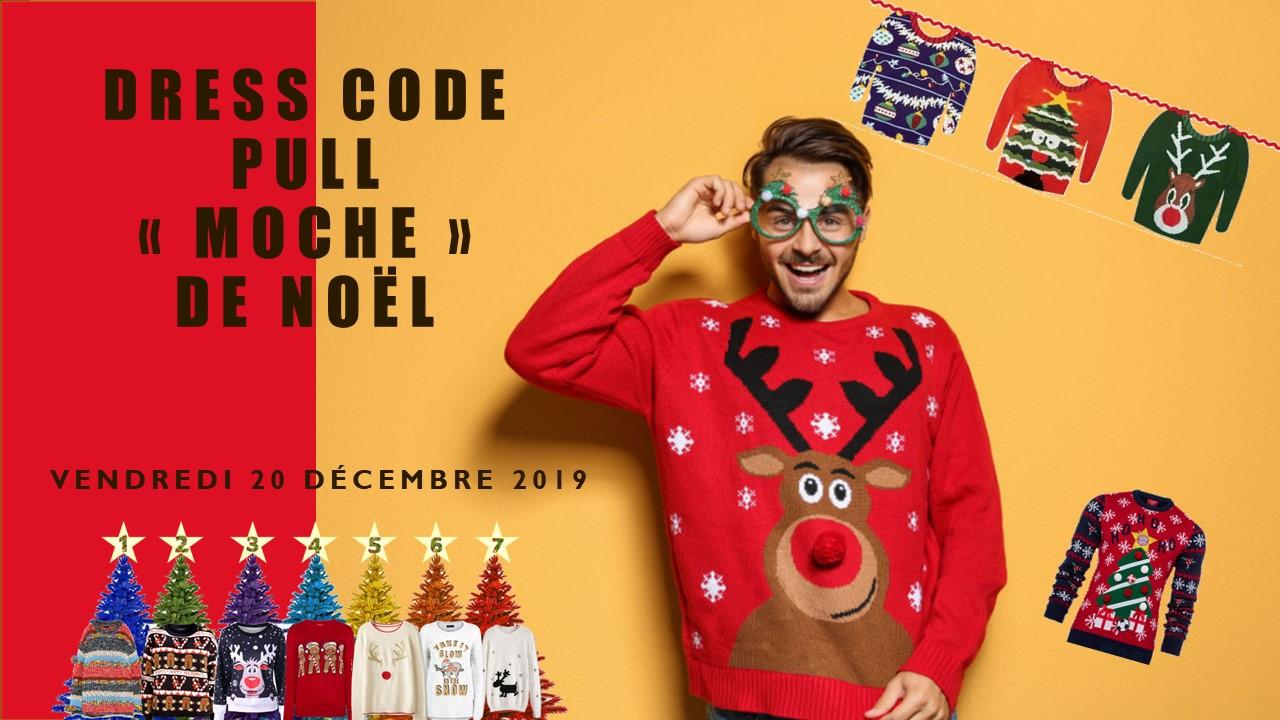 Dress Code Pull de Noël 20/12/2019
