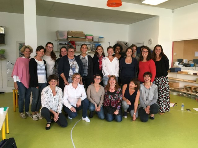 Formation MONTESSORI des enseignants 10/10/2018