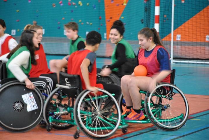 Semaine Olympique et Paralympique - Initiation au Hand-fauteuil - 07/02/2019