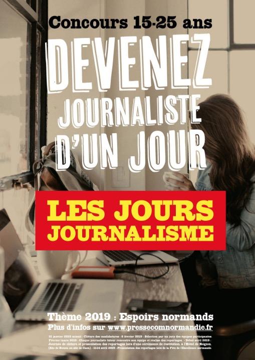 Participation de deux élèves du Sacré-Coeur au concours Les Jours Journalisme