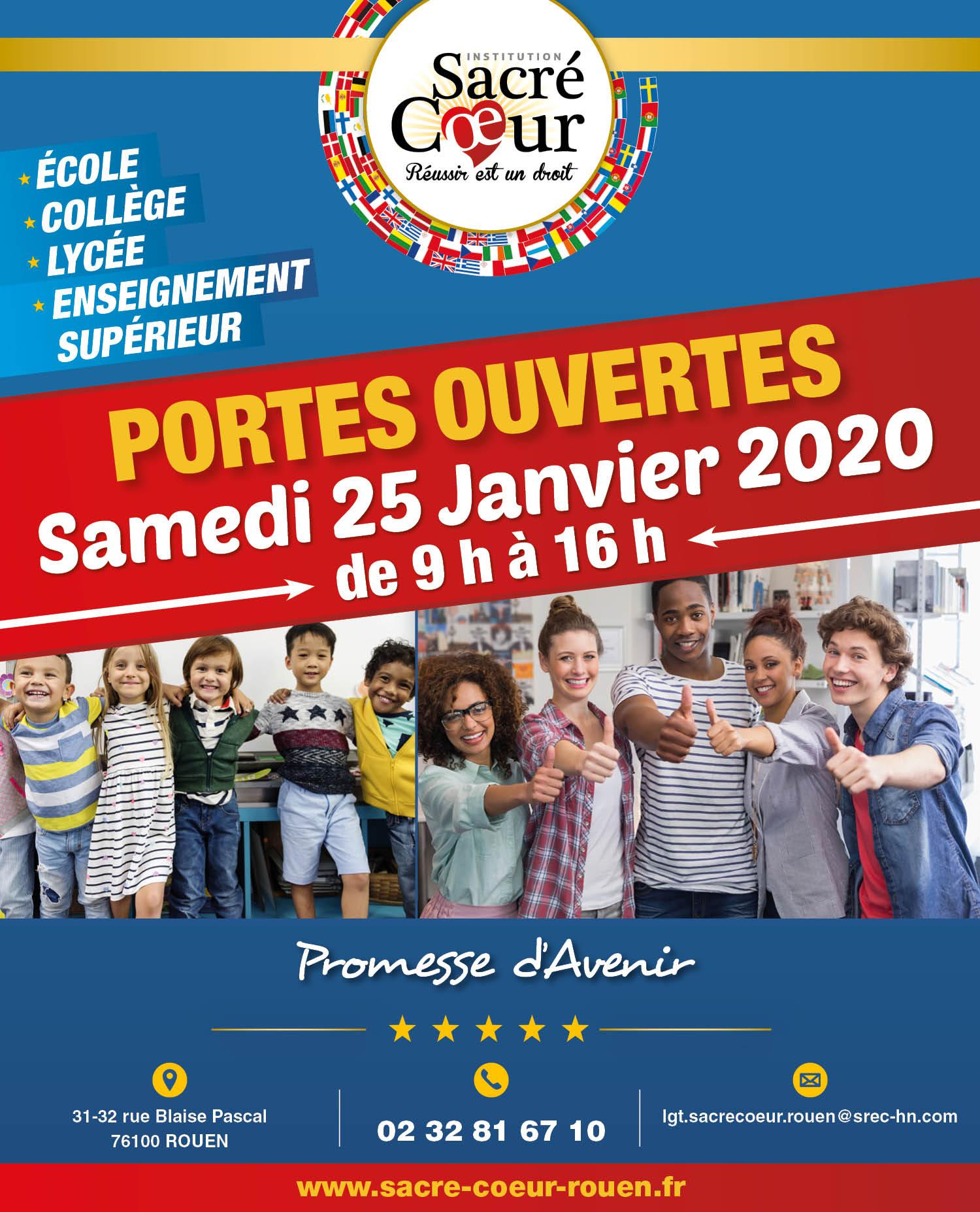 Journée Portes-Ouvertes 25/01/2020