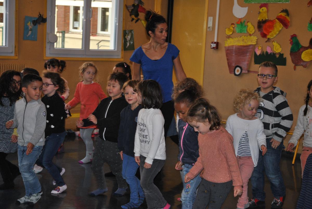 Danse africaine en Maternelle