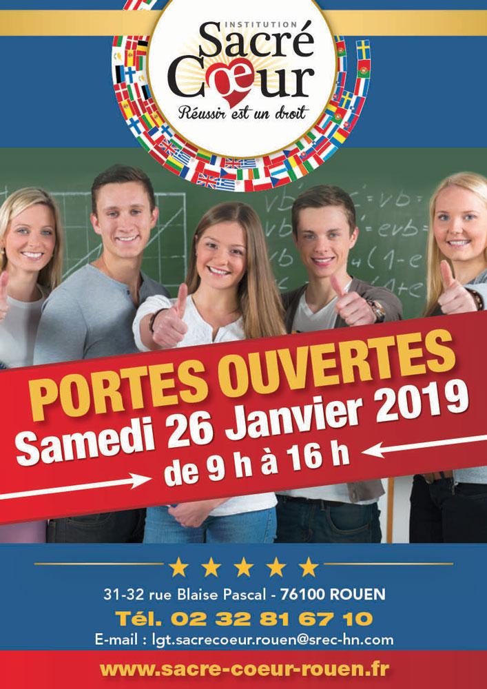 Portes ouvertes janvier 2019