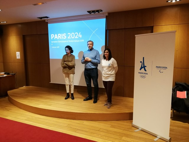 Semaine Olympique et Paralympique - Rencontre au COJO 2024 - 08/02/2019